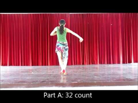 line dance-Sway cha (Demo & Walk) For beginner