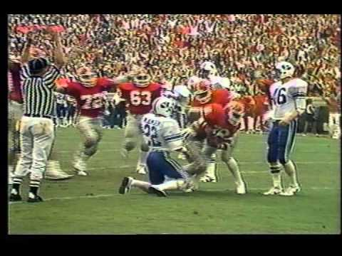 1981 2 Georgia Bulldogs At Georgia Tech Larry Munson