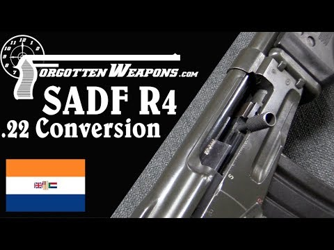 South African Army .22 Rimfire Conversion for the R4