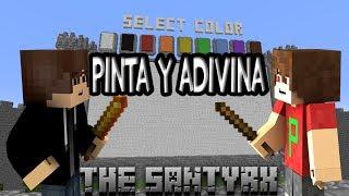 Pinta y Adivina Minecraft Con Jpoga