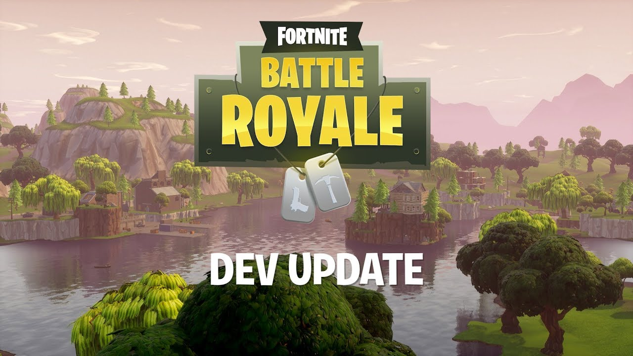Fortnite Battle Royale Dev Update #5 - Incoming Map Update