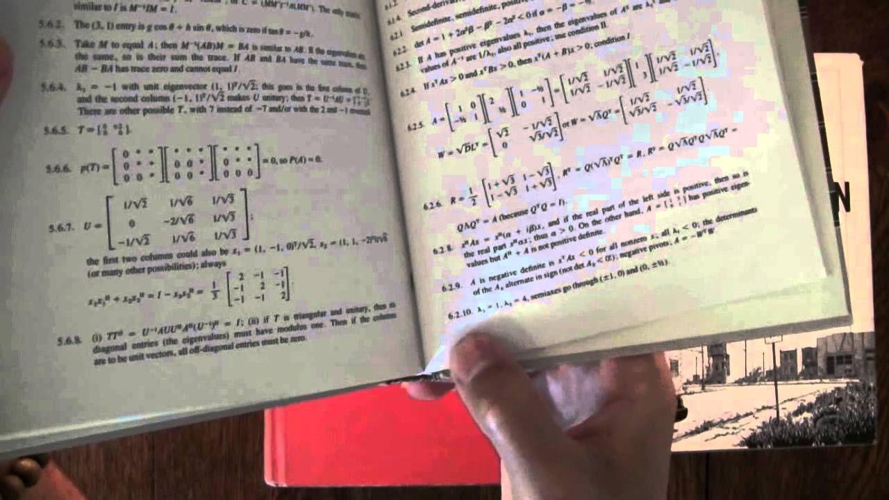ASMR Math: How to Study: Tip #5: How to Read a Textbook - - Male ...