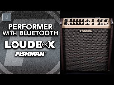 NEW Fishman Loudbox Performer With Bluetooth