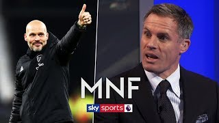 Should Freddie Ljungberg get the Arsenal job full time? | Jame Carragher & Rafa Benitez | MNF