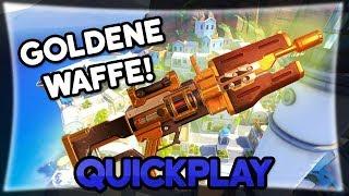 Neue goldene Waffe! • Overwatch Quickplay deutsch
