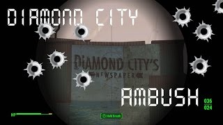 Video Fallout 4, Diamond City Triggermen Ambush download MP3, 3GP, MP4, WEBM, AVI, FLV Juni 2017