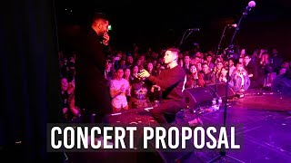 SOMEONE PROPOSED ON STAGE AT OUR LA SHOW! | DRUMMER ON TOUR VLOG