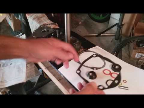 How to replace impeller on 2011 Mercury 90 hp 4-stroke Part 2