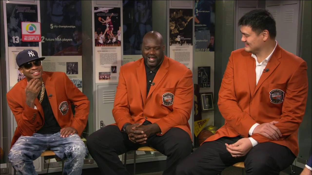 Allen Iverson, Shaq, Yao Ming most EMBARRASSING moments in ...