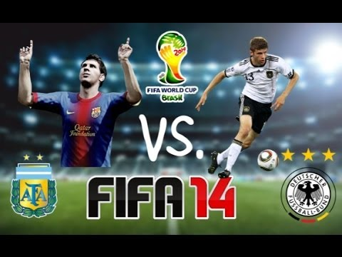 FIFA 14 | Germany vs. Argentina | FIFA World Cup 2014 Final - Live FaceCam Raging