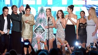 'Pretty Little Liars' Cast Wins Big At 2016 Teen Choice Awards