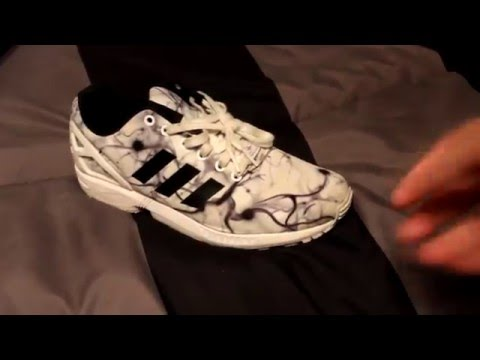 Zx Flux Cleaning #2 With Reshoevn8r
