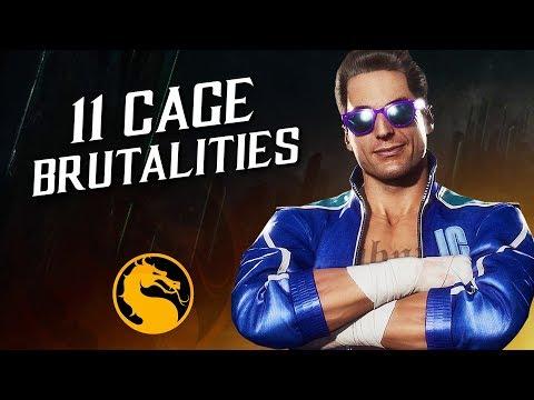 11 Johnny Cage Brutalities – Mortal Kombat 11