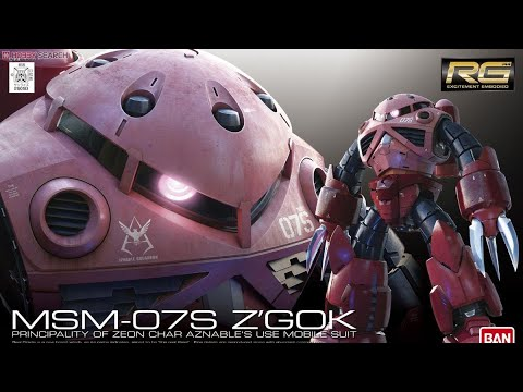 Bandai Gunpla RG 1/144 Char's Z'Gok Review