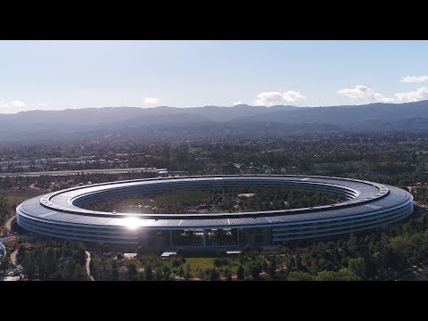APPLE PARK: December 2017 Construction Update