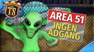 ALIENS ANGRIBER AREA 51! - Tower Defense Simulator | Dansk Roblox