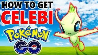 Completing ALL Celebi Research Tasks in Pokemon Go!