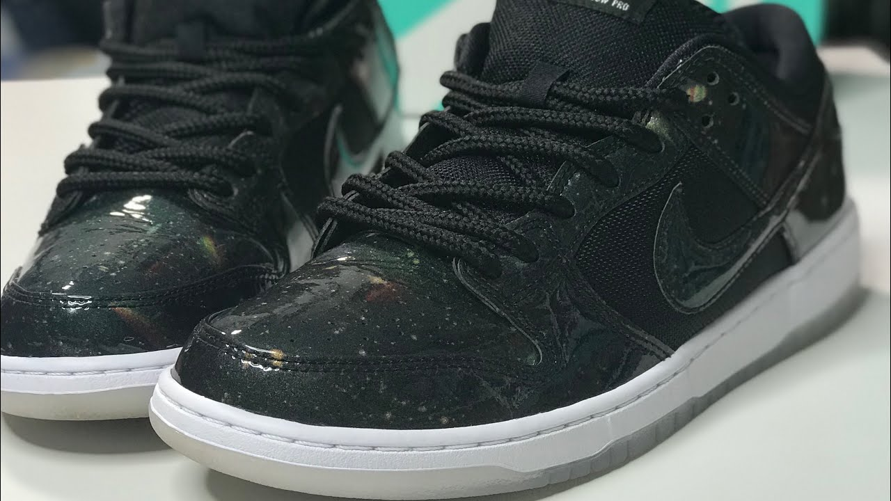 "online retailer 336e3 c3554 Recorded Live Sneaker Chat : Nike SB Dunk Low 420 ""Galaxy"" Unboxing"
