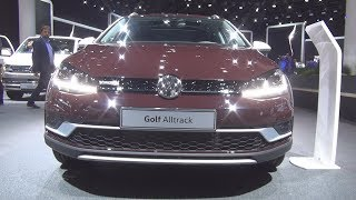 Volkswagen Golf Variant Alltrack 2.0 TDI 184 hp 4MOTION 7-DSG (2018) Exterior and Interior