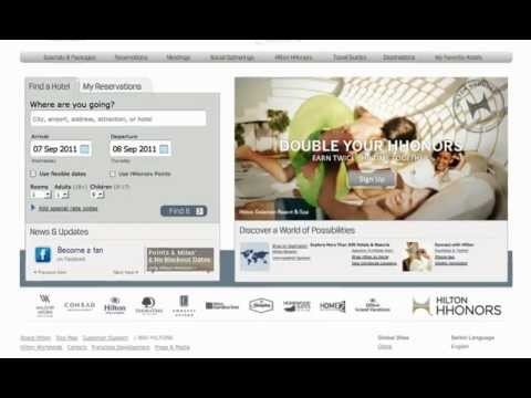 Improved Hilton HHonors Search & Reservations System