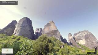Explore Greece on Street View Free HD Video
