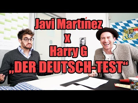 "Harry G - Javi Martínez ""Der Deutschtest"""