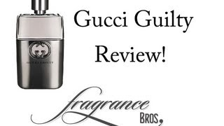 Gucci Guilty Review! Just okay.