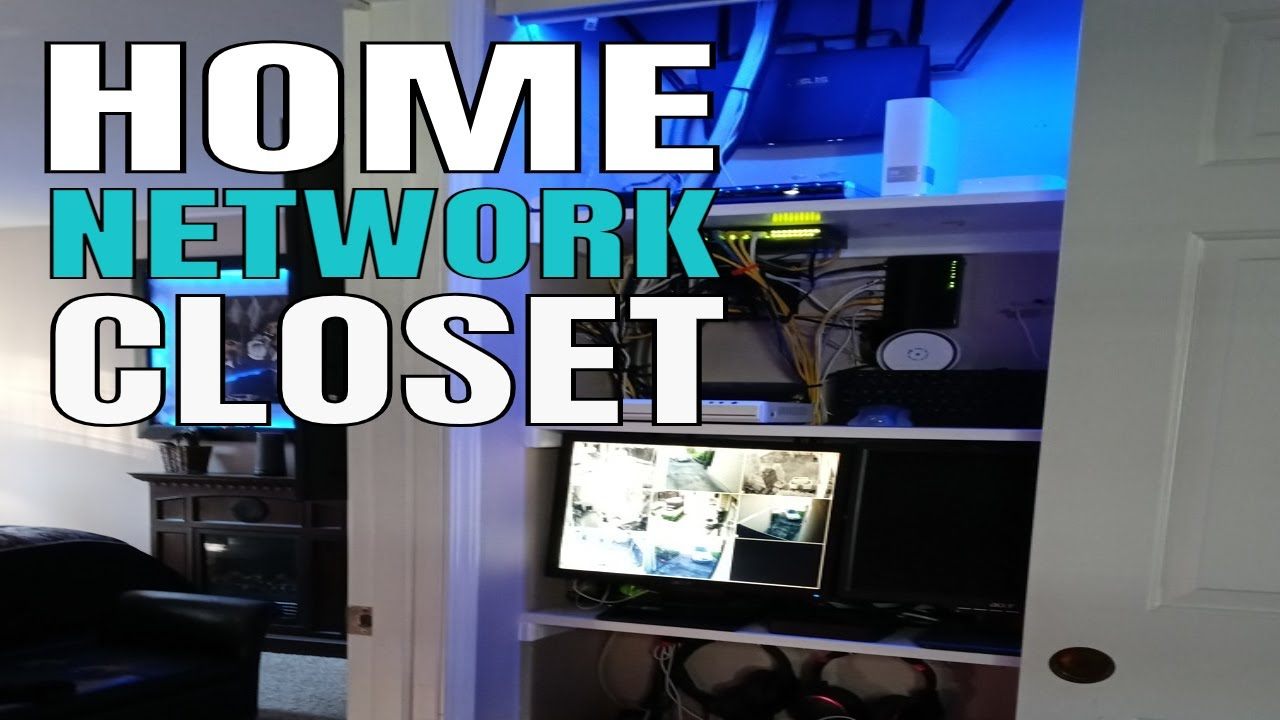 Smart Home Tech The Ultimate Network Closet Youtube Internet Wiring