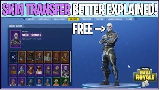 *NEW* Fortnite: SKIN TRANSFER/DUPLICATION GLITCH! *Give Skins to Friends* | (Better Explained)