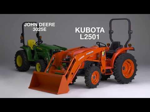 Kubota vs The Competition - Lansdowne-Moody Company