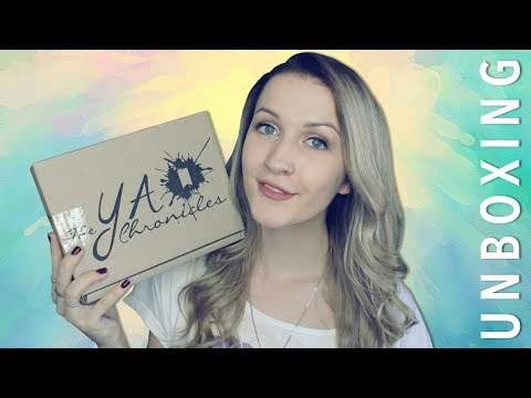 THE YA CHRONICLES UNBOXING | Diverse Fantasy #1