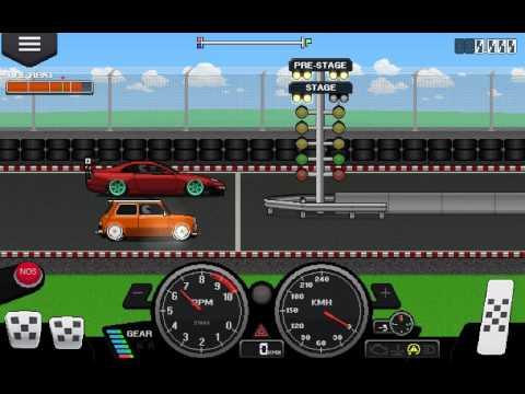 Pixel Car Racer - 3300HP FR9 MINI Cooper
