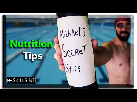 Swimming recovery part 2. Nutrition tips for swimmers.