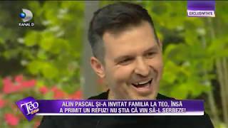 Teo Show (08.05.2017) - Alin Pascal, serbat de familie la Teo!