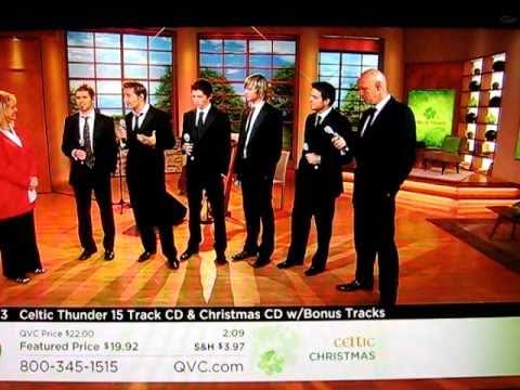 Celtic Thunder Performs on QVC Celtic Christmas - Sept. 8, 2010