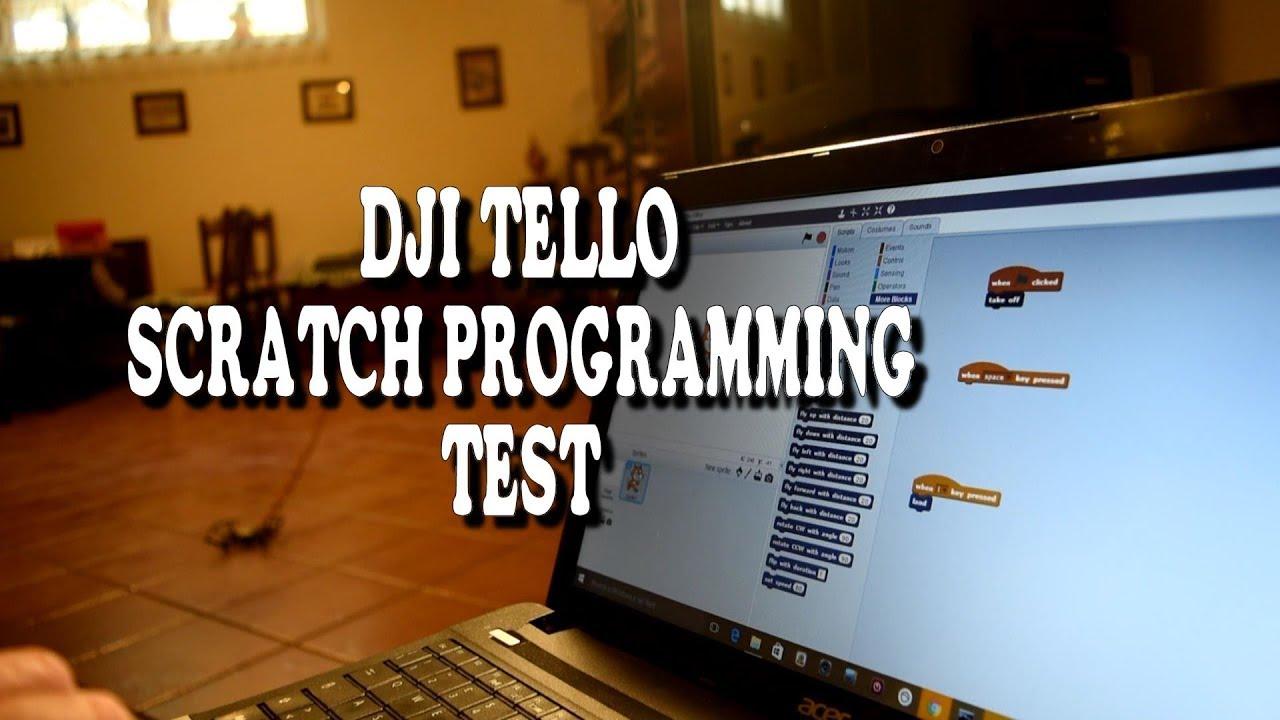 Dji Tello - Ryze Tech - Scratch programming test - Programmare Tello ITA
