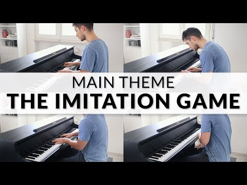 The Imitation Game - Main Theme (Alexandre Desplat) | Piano + Strings Cover