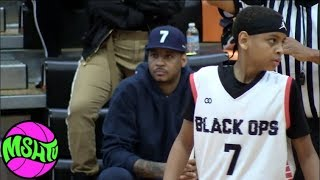 Carmelo Anthony Son HAS GAME- Hoodie Kiyan GOES OFF in Alabama