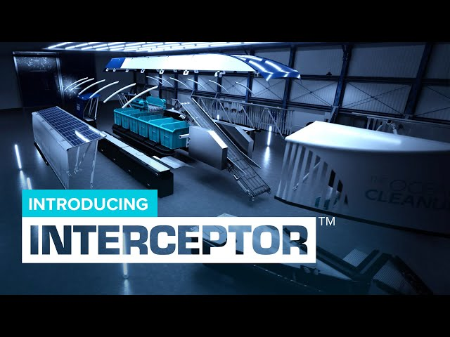 Ocean Cleanup introduces the Interceptor, a specially developed solution for river cleanup.