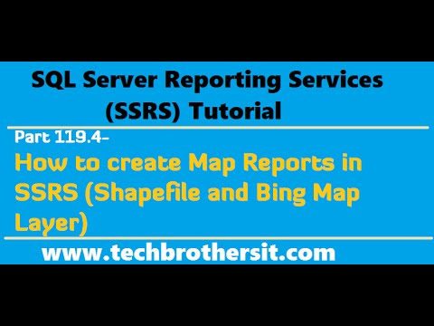 SSRS Tutorial Part How To Create Map Reports In SSRS - Ssrs us map