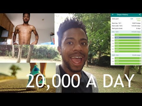 I WALKED 20,000 STEPS A DAY FOR A MONTH | LIFE CHANGE