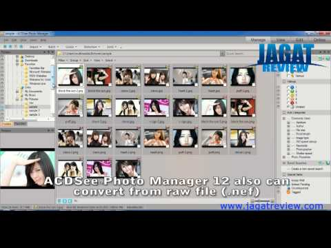 ACDSee Photo Manager 12 - Convert Multiple Images