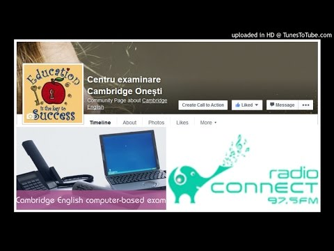 Radio ConnectFM Onești Cambridge exams-24 mai 2016