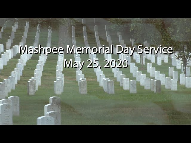 Mashpee Memorial Day Service 2020