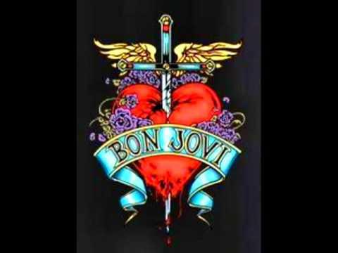 Bon Jovi   U give love a bad name lyrics   YouTube