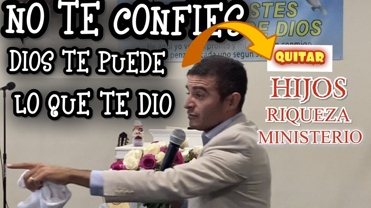 El Dia Que Dios Te Quite Todo (( fuerte predica )) erme zuniga