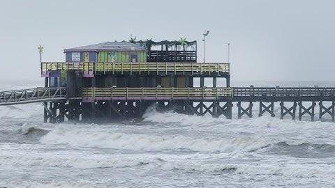 Hurricane Harvey Live Beach  cam