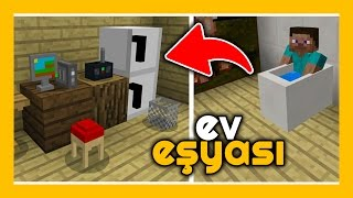 Minecraft PE - Ev Eşyası Eklentisi iOS, Android, Windows 10 MCPE