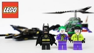 LEGO Batman Batwing Battle Over Gotham City Review, Unboxing, Time Lapse Build Super Heroes 6863