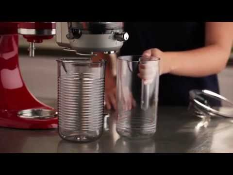 KitchenAid® Stand Mixer - Juicer and Sauce Attachment Set-up